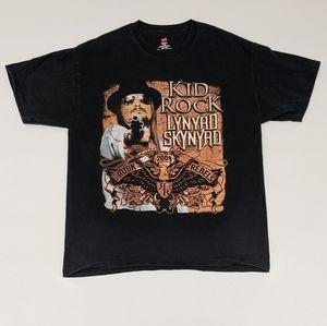 2009 Kid Rock Lynyrd Skynyrd Concert T-shirt